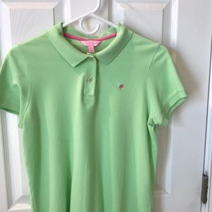 Lilly Pulitzer women's large polo lime green
